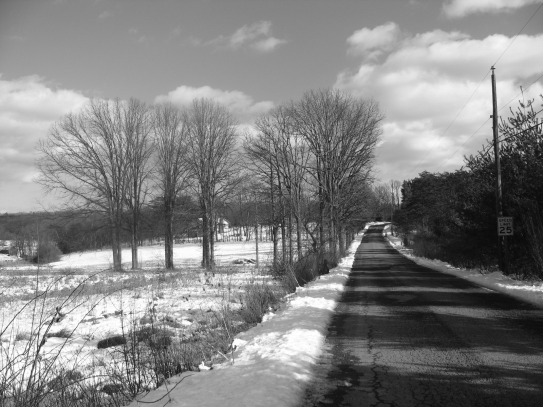 Main_Road_BW